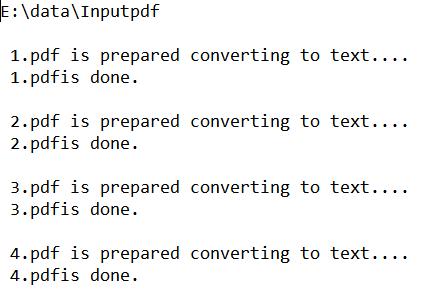如何用pdfbox-app-1 8 10 jar批处理将pdf文档转换成text文档