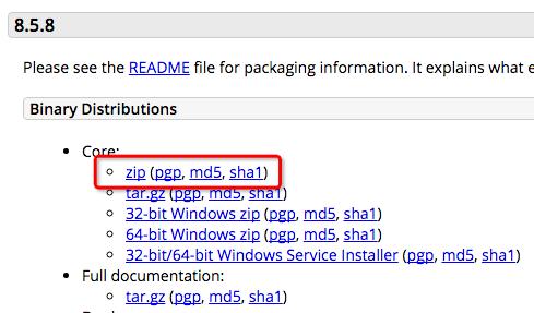 在Mac系统中安装及配置Apache Tomcat