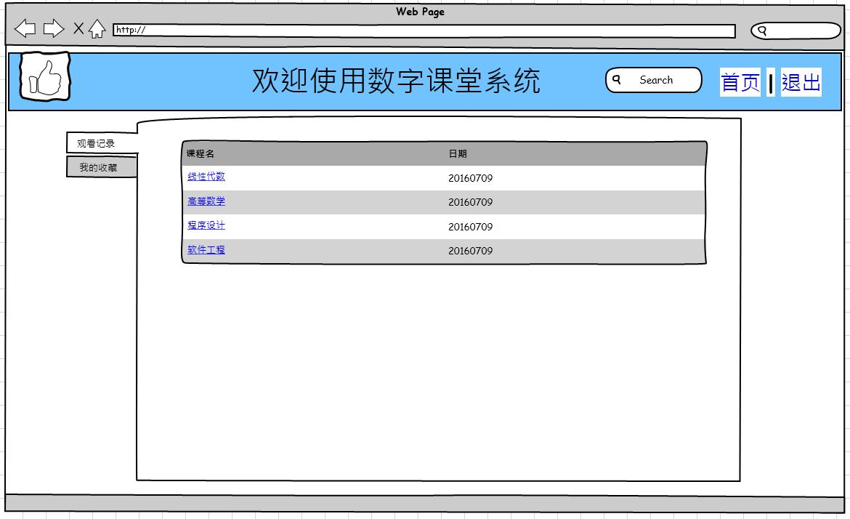 软件工程--界面UI 的原型设计