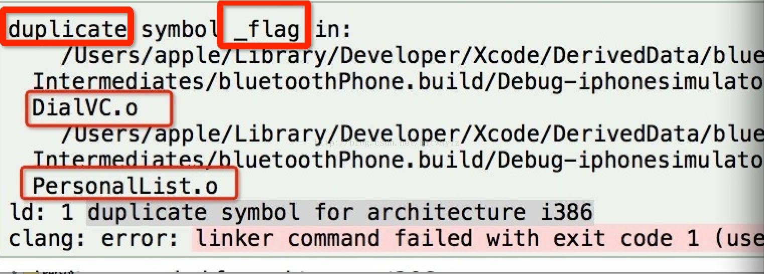 Ios Quotduplicate Symbol For Architecture I386quot