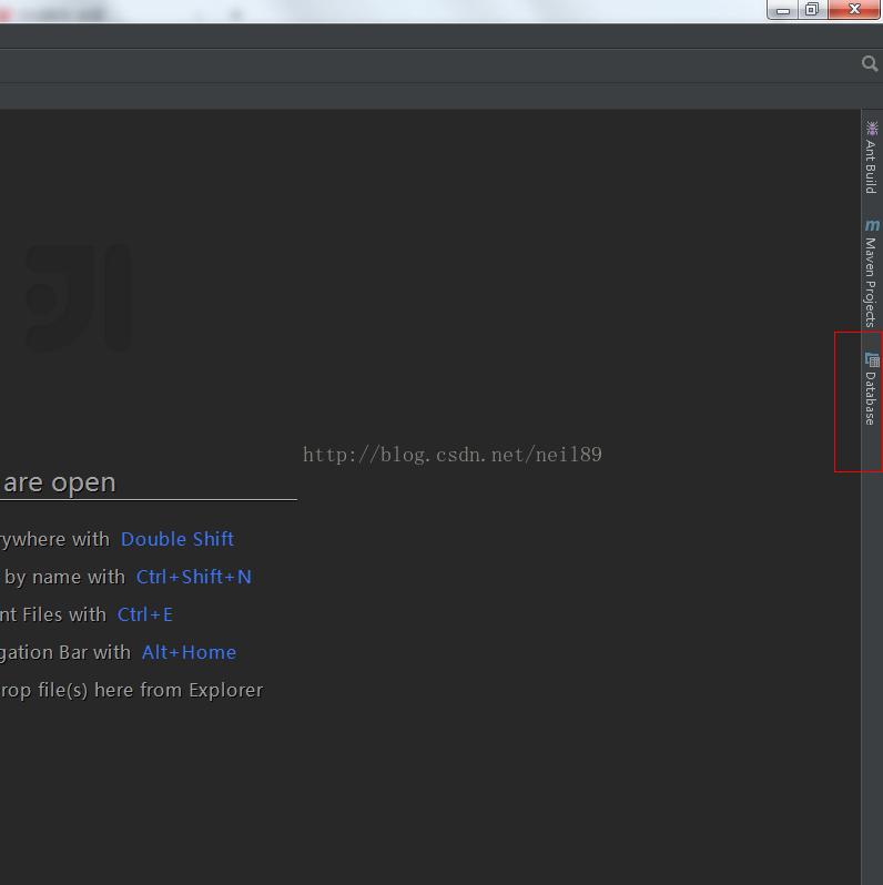 intellij idea搭建ssh开发框架之绑定数据源