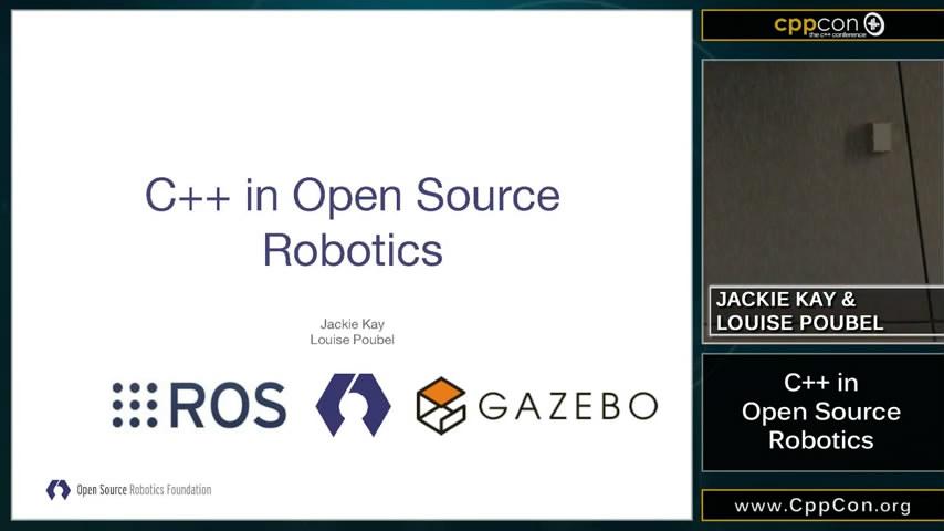 ROS讲座关于ROS2和Gazebo C++ in Open Source Robotics