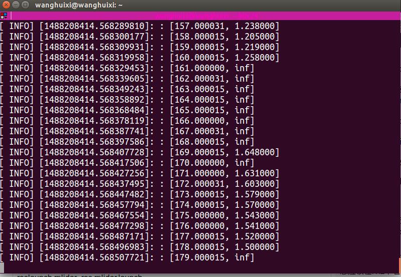 ubuntu RPLIDAR A2的使用