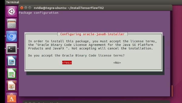 Jetson TX2安装tensorflow(原创)