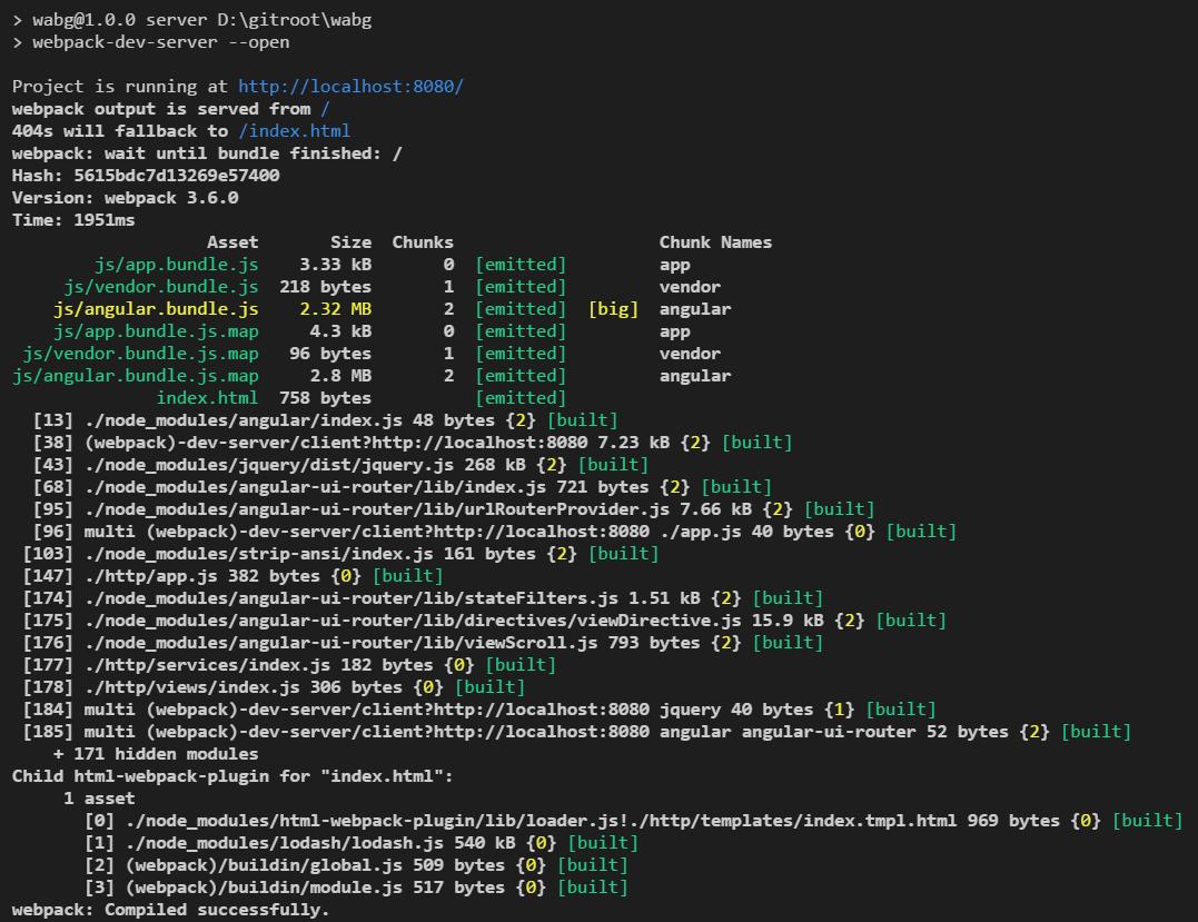 原]Webpack 3 + AngularJS1 * + Bootstrap 4 + Mapbox-gl