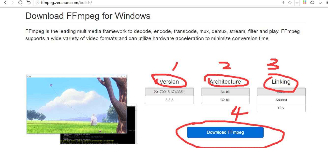 Python:使用youtube-dl+ffmpeg+FQ软件下载youtube视频