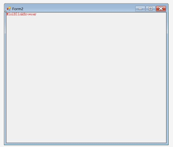 C# 封装miniblink 使用HTML/CSS/JS来构建 Net 应用程序界面和简易浏览器