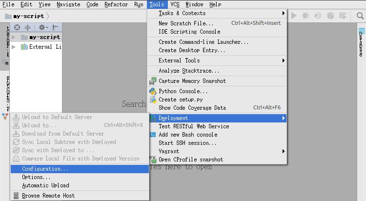 pycharm]远程调试服务器项目