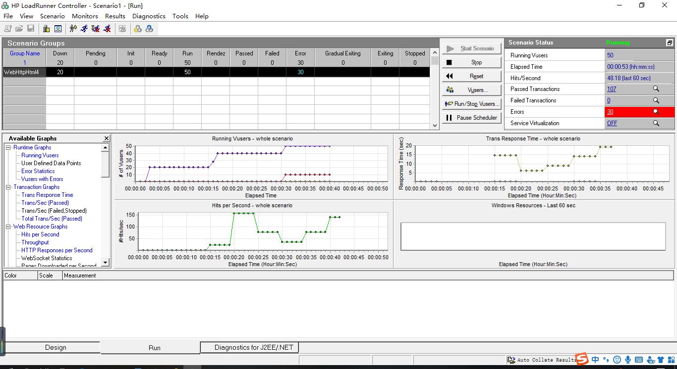如何使用loadrunner进行web网站性能测试